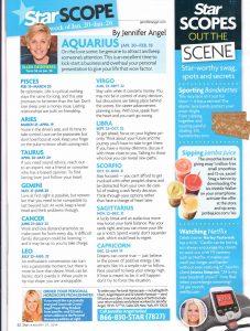 Star Magazine page