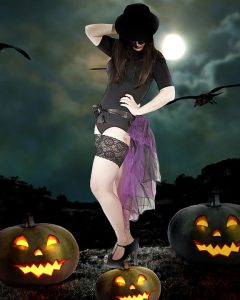 Curvy Style For Halloween