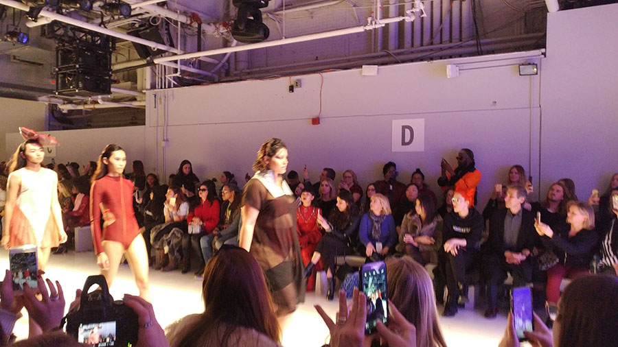 Bandelettes as seen at NYFW