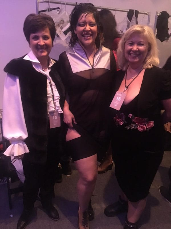Rena and Julia of Bandelettes with Denise Bidot