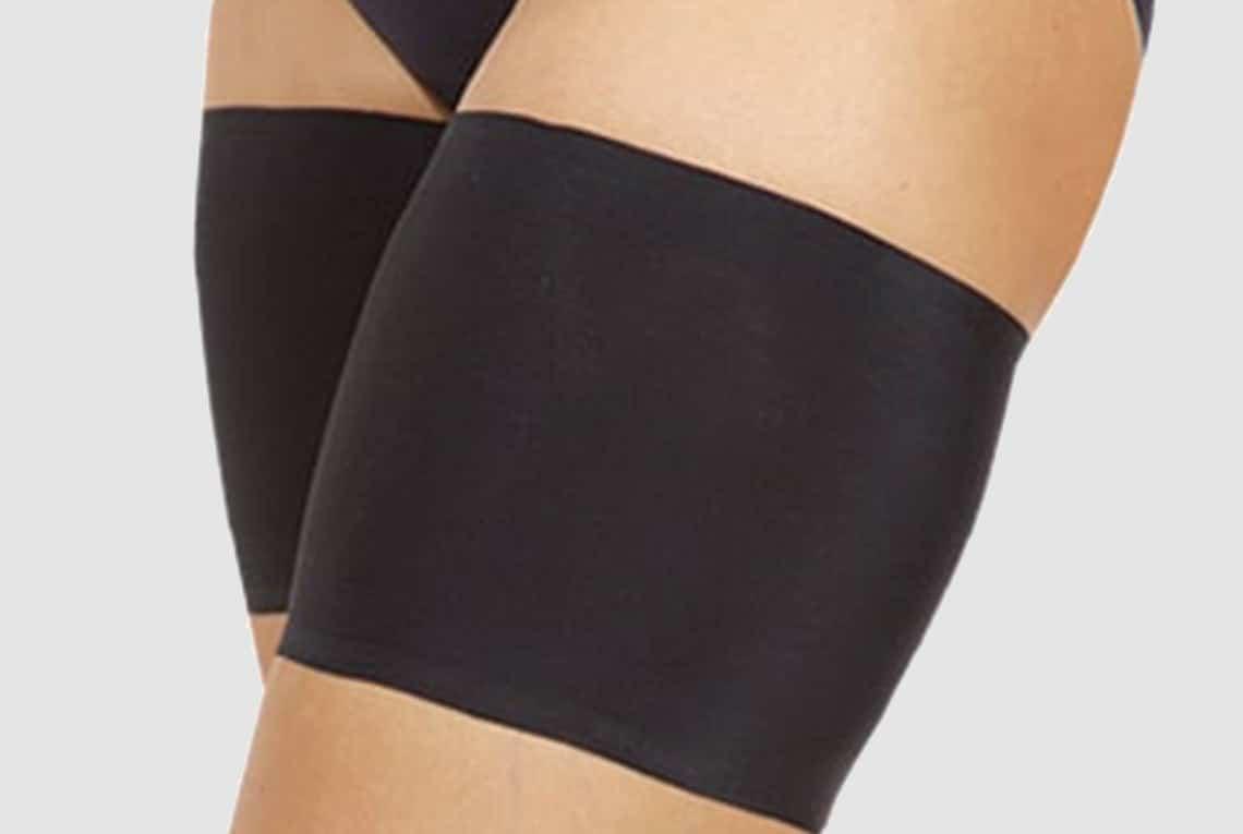 Black Unisex Thigh Bands