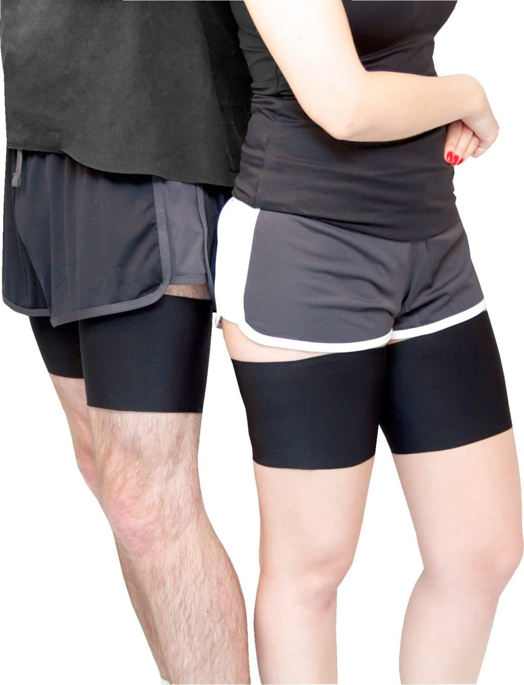 Man and Woman Bandelettes Anti-Chafing Thigh Bands