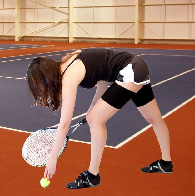 Sport Bands on Tennis Court