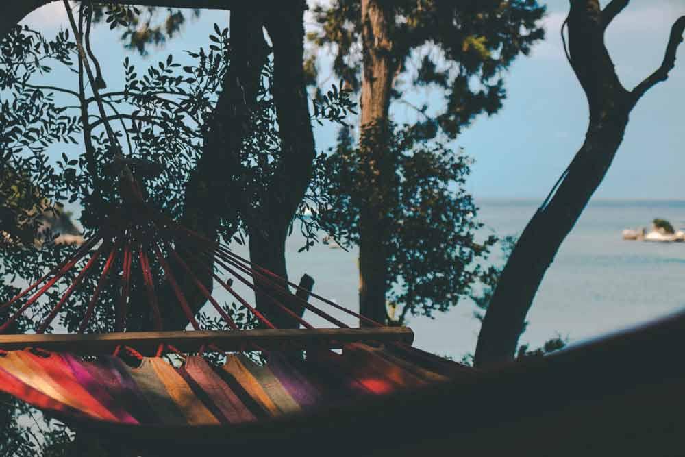 Summer hammock - thigh chafing starts when it gets hot!
