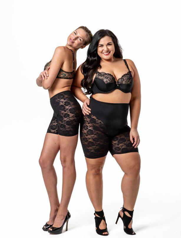 Two women in Black Allure
